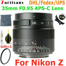 7artisans 35mm F0.95 Full Frame APS-C Manual Focus Lens for Nikon Z mount Camera