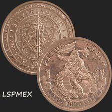 2019 Silver Shield MiniMintage Series Petro Yuan 1 oz Copper USA Made BU Round