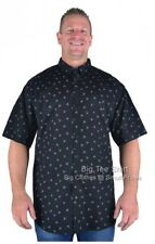 Big Mens Black Brooklyn Santa Cloud Christmas Shirt  2XL 3XL 4XL 5XL 6XL 7XL 8XL