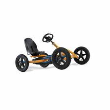 Berg Toys Buddy Kids Toddler Safe Pedal 4 Wheel Go Kart Toy Orange
