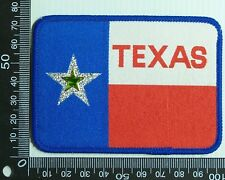 VINTAGE TEXAS USA EMBROIDERED SOUVENIR PATCH WOVEN CLOTH SEW-ON BADGE