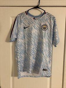 Nike Manchester City Training Shirt Size Large Mens