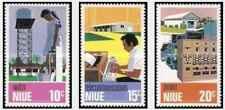 Timbres Niue 175/7 ** lot 27414