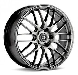 ENKEI EKM3 17x7 Performance Series Wheel Wheels 5X100/114.3 ET38/45 HYPER SILVER