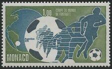Briefmarken mit Fußball Thema aus Monaco