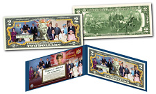 BRITISH MONARCHY / ROYAL FAMILY Diana Elizabeth THEN & NOW Official U.S. $2 Bill