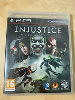 Injustice Gods Among Us Sony PS3 PlayStation 3 Brand New Sealed