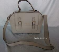 NWT Kate Spade Allen Street Raquelle Satchel Conv. Shoulder Bag Light Smoke Gray