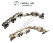 For Mercedes W164 W211 W906 X164 Set of Right & Left Exhaust Manifold Genuine
