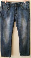 Buffalo David Bitton Women's Size 34 Boot cut Jeans Medium Blue Wash
