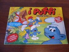 PUFFI - vecchio album trasferelli raro Smurf Vintage anni 80 Peyo PUFFO