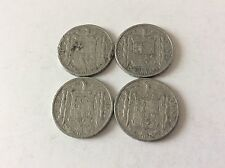 Série complète de 10 cent. Espagne alu de 1940/1941/1945/1953 TTB