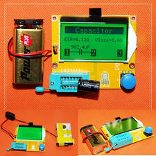 LCR graphical multi-function tester capacitor + inductance + resistor + SCR+MOS