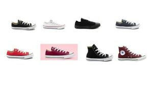 CONVERSE CHUCK TAYLOR LOW/H TOP CANVAS FOR KIDS SIZE 10.5 - 3