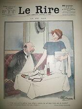 LE RIRE N°  310 CARICATURE SATIRIQUE PAR GUILLAUME LEANDRE PAVIS NOB VADASZ 1925