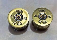 Walla Walla Guitar Company 12 Gauge Shotgun Shell GUITAR KNOBS (2) [SPLIT SHAFT]