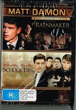The Rain Maker/ School Ties staring Mat Damon  DVD   F1