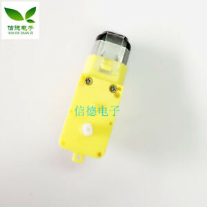 5PCS NEU Yellow DC3V-6V DC gear motor TT motor strong magnetic anti-interference