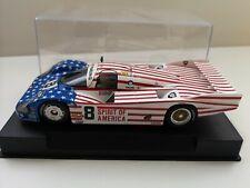 PORSCHE 956 l 24H LE MANS 1986 #8 SPIRIT OF AMERICA 1/32 SLOT IT CAR