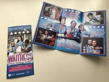 WAITRESS The Musical West End Flyer Ashley Roberts Lucie Jones Marisha Wallace
