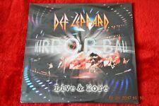 DEF LEPPARD MIRROR BALL LIVE & MORE 3 LP