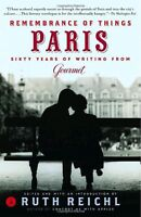 Remembrance of Things Paris: Sixty Years of Writing from Gourmet (Modern Library