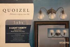 Quoizel Soho 3-Light Bronze Transitional Vanity Light 726792 Alternate Mounting