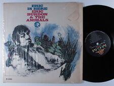 ERIC BURDON & THE ANIMALS Eric Is Here MGM LP VG+ mono SHRINK >>