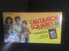 1976 Vintage Calculator Squares Texas Instruments Board Game New