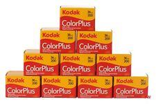 10x Kodak Filme ColorPlus 200 mit 36 Aufnahmen Kleinbild Film 08/2022