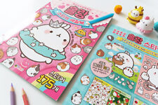 MOLANG STICKER COLORING BOOK, PAINTING BOOK
