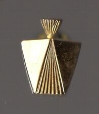 Pin's bouteille de parfum / doré relief (marque à définir)