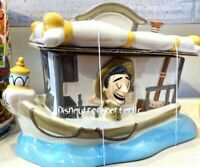 Disney Parks Jungle Cruise Kitchen Cookie Jar Brand New