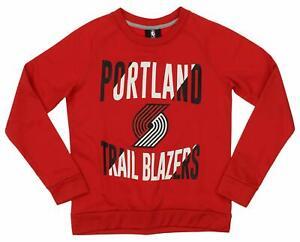 Outerstuff NBA Youth/Kids Portland Trailblazers Performance Fleece Sweatshirt