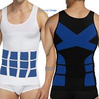 US Men Waist Trainer Slimming Tummy Control Girdle Shirt Vest Corset Body Shaper