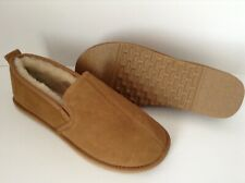 GENUINE SHEEPSKIN SLIPPERS ( WITH SOLE)  (SIZE 7)