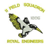 ROYAL ENGINEERS - 11 FD SQN EMBROIDERED POLO SHIRT