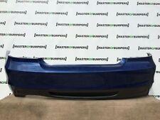 BMW SERIE 1 M Sport E82 E88 Coupe e Cabrio Paraurti Posteriore In Blu [B327]