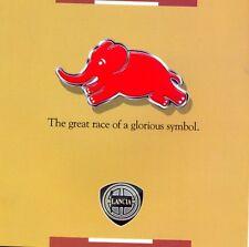 Lancia HF Fulvia Stratos Delta integrale English 1991 colour sales brochure