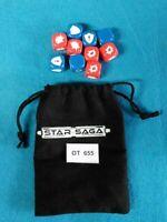 Futuristic/CI-FI - Mantic Star Saga - Dados y Bolsa - OT655