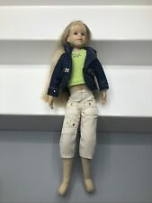 """New ListingOnly Hearts Club Doll Caucasian Blonde Hair 9"""" Blue Eyes Dressed"""