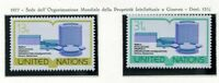 19138) UNITED NATIONS (New York) 1977 MNH** Nuovi** WIPO