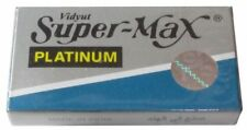 100 Supermax Platinum double edge razor blades