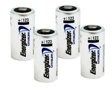 Energizer 123  Lithium Batteries - X 4 Bulk (new)