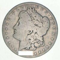 (1) G/VG 1878-1904 Morgan Silver Dollar - Random Date - Eagle Reverse US Coin