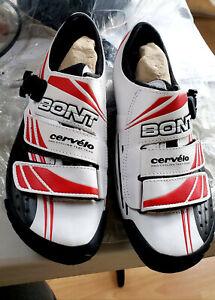 Bont Moldable Carbon Fiber Cervelo Test Team Road Shoes *NEW!* Unused with Bag