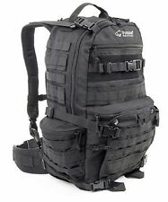 Yukon Tactical Stokeridge 3-Day Black Pack / 45L Water Resistant Backpack - New