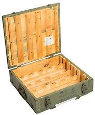 Caisse à munitions PMO2 AMMO Coffre de rangement militaire en bois