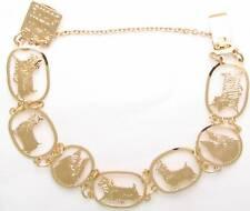Silky Terrier Jewelry Gold Bracelet by Touchstone