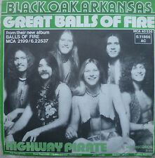 "7""1976 MINT-?! BLACK OAK ARKANSAS Great Balls Of Fitre"